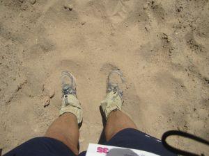Deep sand!