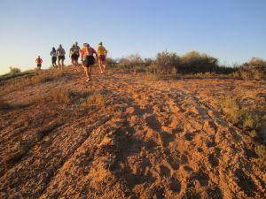 Uphill sand!